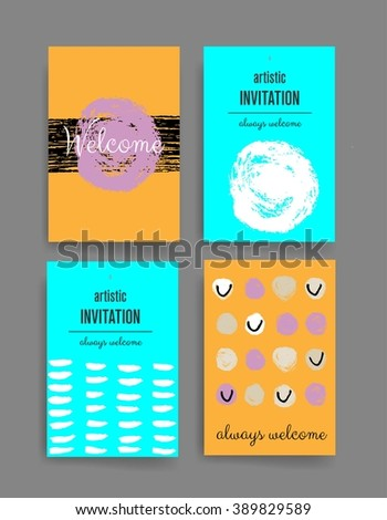 Modern Abstract Brochure Vector Stock Vector 543195199 - Shutterstock