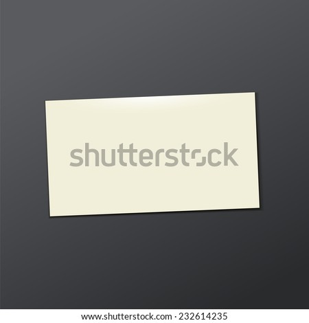 template white  Business card. Vector illustration eps 10