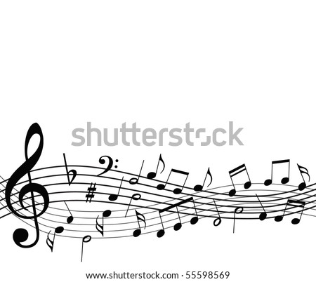 Music Notes Border Stock Images, Royalty-Free Images & Vectors