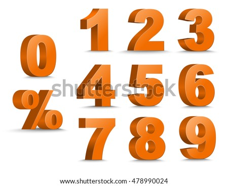 number 3 templates