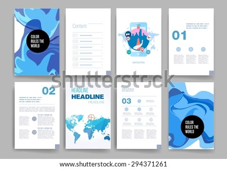 Computer Cloud Backup Infographic Design Set Stock Vector ...