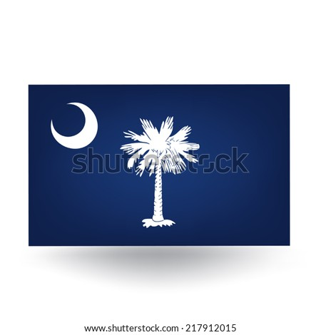 Tennessee Flag - stock vector