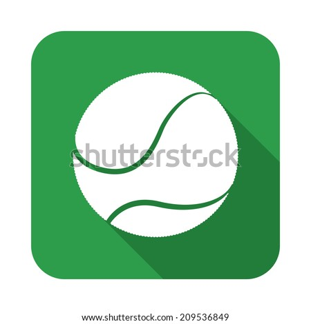 tennis design over green  background vector illustration - stock vector