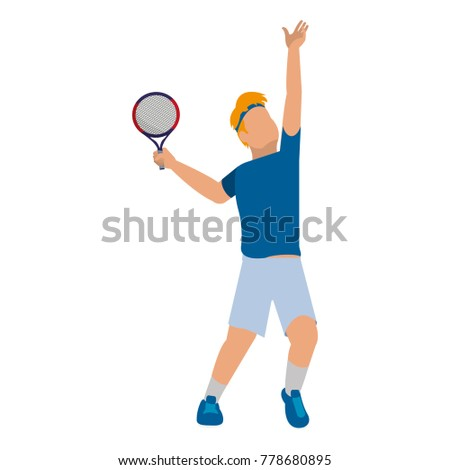 Tennis player design