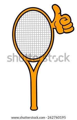 Tennis symbol - stock vector