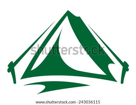 Tent - stock vector