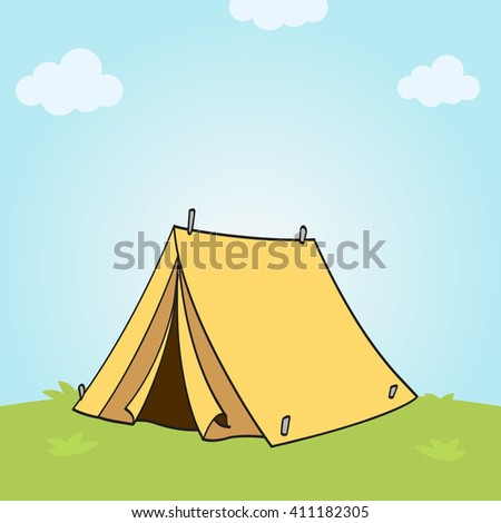 Tent for camping and outdoor