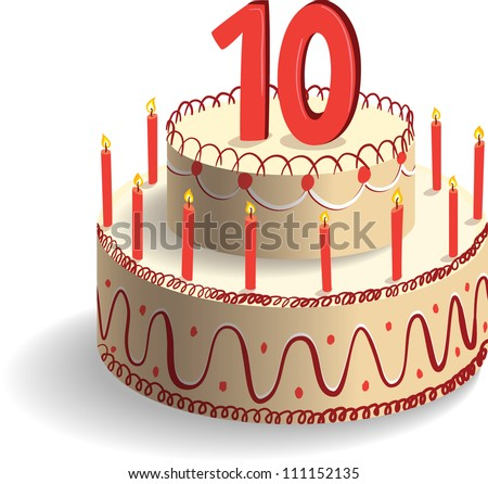 Birthday Cake Clip Art Stock Images, Royalty-Free Images ...