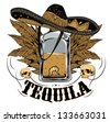 Tequila - stock vector
