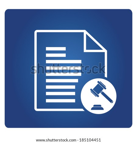 term and condition symbol - stock vector