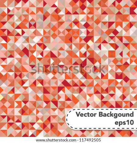 Tessellating Abstract Background - stock vector