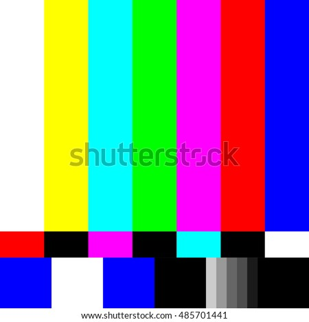 Test tv screen background
