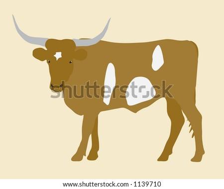 Texas Longhorn Logo Vector