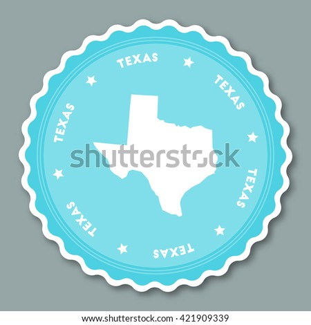 Usa Presidential Election Vote Sticker Stock Vector - Us state sticker map