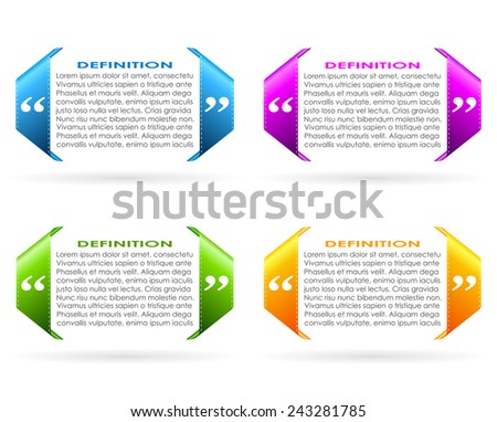 Textbox icon - stock vector