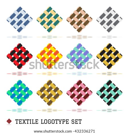 Textile Logo Stock Images, Royalty-Free Images & Vectors ...