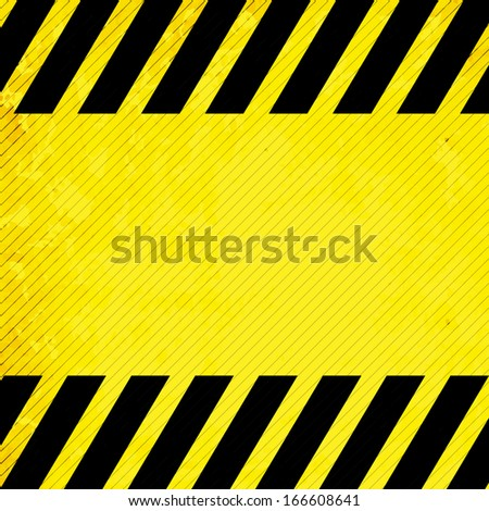 Texture Hazard Warning Background. EPS10