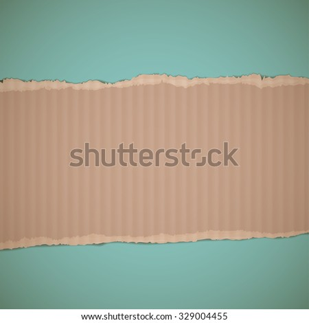 Texture of cardboard. Retro background. Stock vector illustration. - stock vector