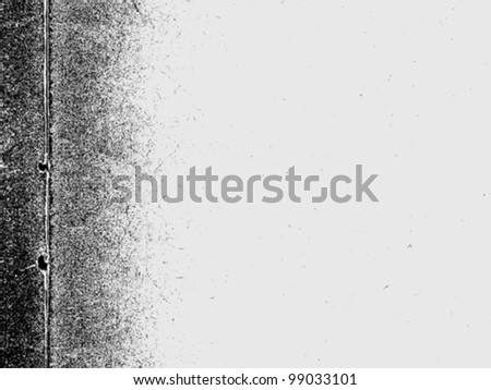 texture of the old paper, vector illustration - stock vector