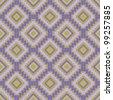 Texture with rhombus - stock vector
