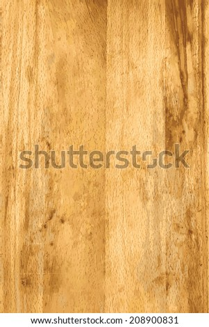 textured light dsoftwood table top or flooring - stock vector