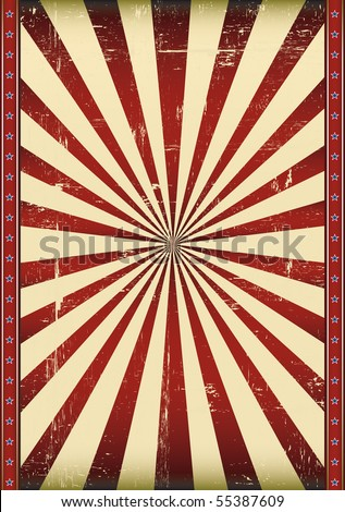 Textured sunbeam flag. A poster with a grunge flag background for your design - stock vector