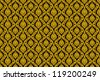 Thai art wall pattern with vector design. - stock vector