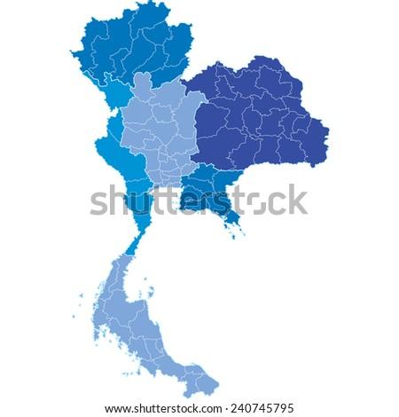 thailand - stock vector