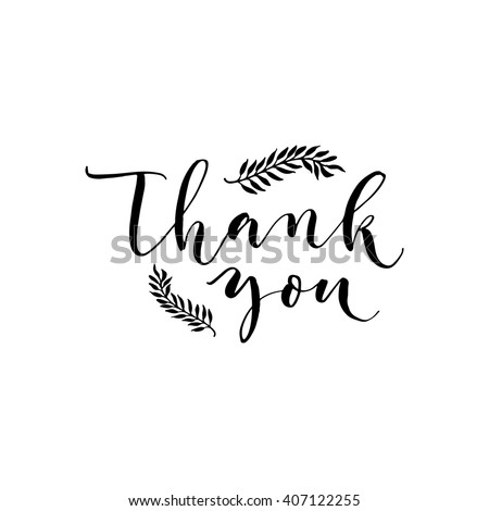 Thank You Cursive Stock Photos Royalty Free Images
