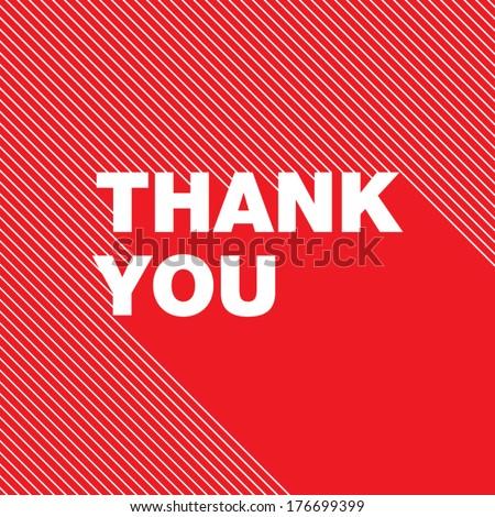 Thank You Cart - stock vector