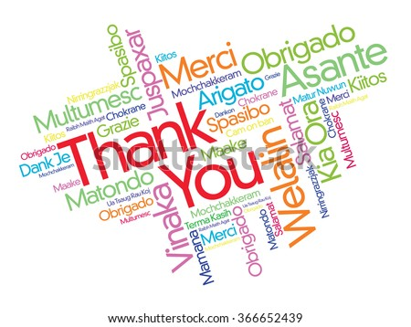 Thank you word cloud background all 520294981 thank you word cloud concept background in many languages voltagebd Gallery