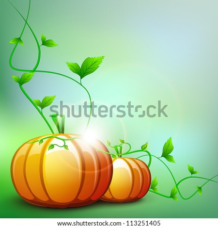 Thanksgiving background. EPS 10. - stock vector