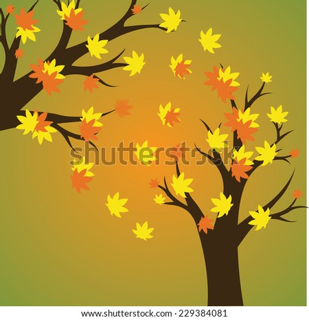 thanksgiving background. vector illustration - stock vector