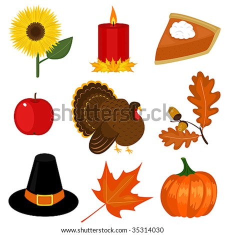 thanksgiving day clipart stock vector 35314030 shutterstock rh shutterstock com thanksgiving day clipart free thanksgiving day animated clipart