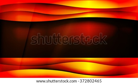 The abstract metallic gold background