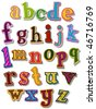 The Alphabet - Vector - stock vector