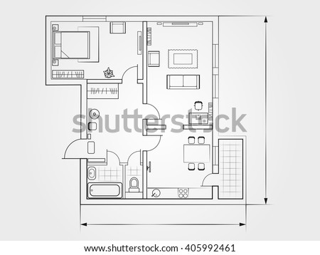 Apartment complex stock vectors vector clip art for Apartment complex layout