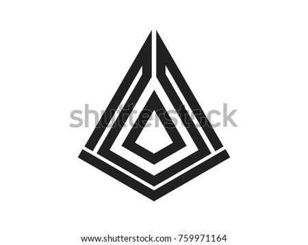 arrowhead vector illustration logo design stock vector 759971164 rh shutterstock com arrowhead vector art arrowhead vector logo