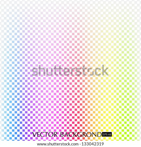 The background color of the rainbow. - stock vector