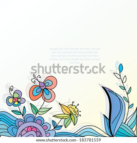 the background colors in shades of blue decorative and beautiful