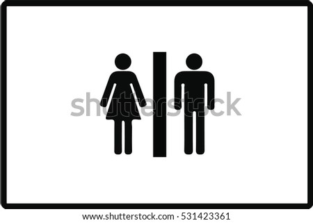 Bathroom Symbol Bathroom Symbol Stock Images Royaltyfree Images & Vectors .