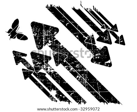 the black and white vector retro grunge background