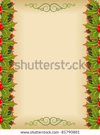 The christmas holiday background - stock vector