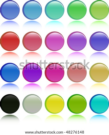 the color vector button set