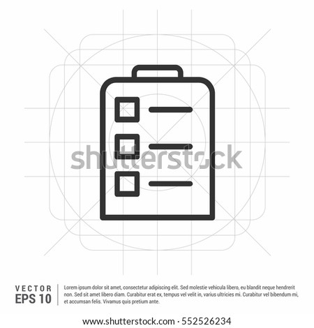 Contract Icon Agreement Signature Pact Accord Stock Vector 552526234