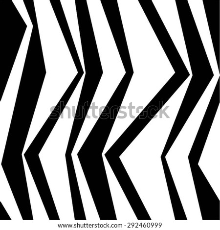 The curve of the band in a simple pattern, seamless vector background. - stock vector