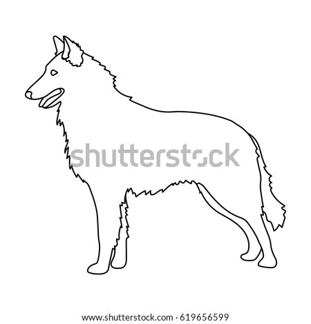 Dog Outline Stock Images, Royalty-Free Images & Vectors | Shutterstock