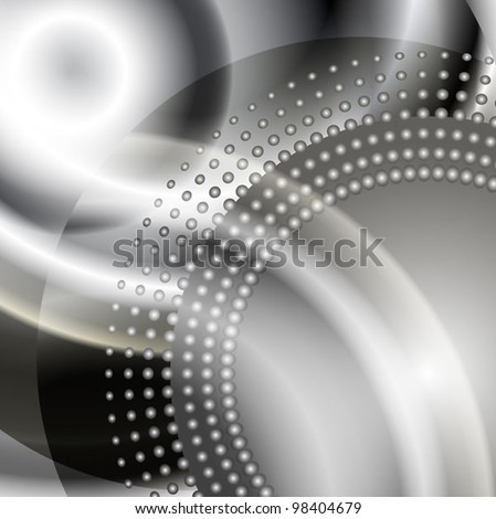 the elegant stylized abstract vector background - stock vector