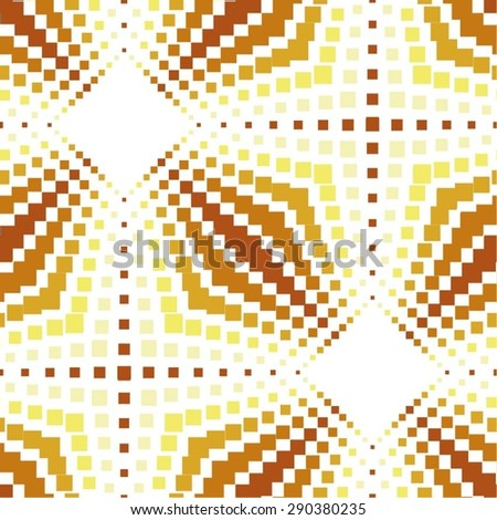 The embossed pattern, carbon, squares, seamless vector background. - stock vector