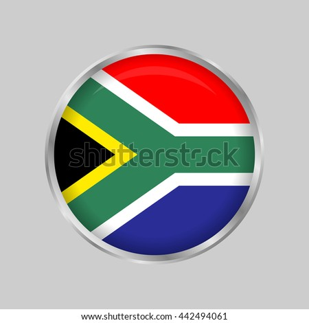 The flag of South Africa